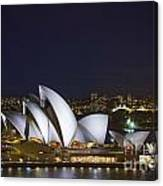 Sydney Opera House In Australia Canvas Print