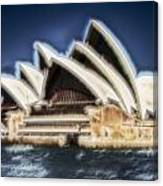 Sydney Opera House V11 Canvas Print