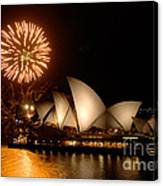 Sydney Opera Theatre Canvas Print