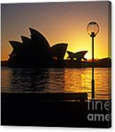 Sydney Sunrise Canvas Print