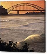 Sydney Surf Time Canvas Print