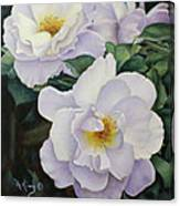 Sydneys Rose Oil Painting Canvas Print