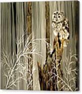 Sylvan Wings Canvas Print