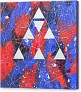 Symbol Of Faith 2001 Canvas Print