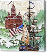 Symbols Of Our Heritage Canvas Print