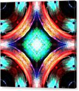 Symmetry Of Colors Canvas Print