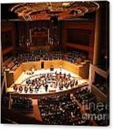 Symphony Orchestra Canvas Print