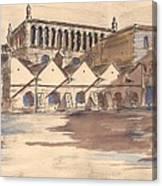Synagoga Cracow Canvas Print