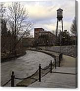 Syracuse Creekwalk Canvas Print