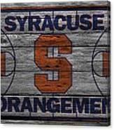 Syracuse Orangemen Canvas Print