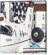 T-1a Jayhawk Canvas Print