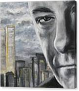 T And The Wtc Canvas Print