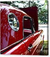 Vintage Car - Opera Window T-bird - Luther Fine Art Canvas Print