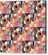 T J O D Tile Variations 19 Canvas Print