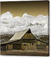 T.a. Moulton Barn In The Grand Tetons Canvas Print