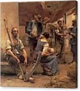 Ta Paye Des Moissonneurs Canvas Print