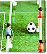 Table Football Canvas Print
