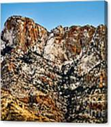 Table Mountain In Winter 42 Canvas Print