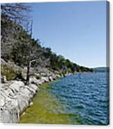 Table Rock Lake Shoreline Canvas Print