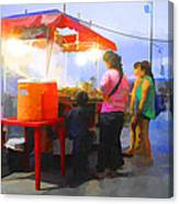 Taco Stand San Felipe Canvas Print