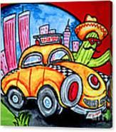 Taco Taxi Canvas Print