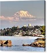Tacoma City Skyline Canvas Print