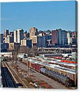 Tacoma City Wide View Canvas Print
