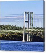 Tacoma Narows Bridge 54 Canvas Print