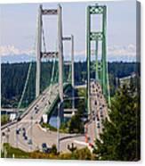 Tacoma Narrows Bridge Canvas Print