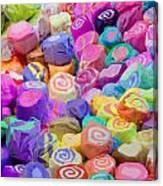 Taffy Candyland Canvas Print