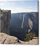 Taft Point Yosemite Canvas Print