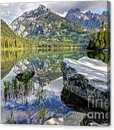 Taggart Lake  Grand Teton National Park Canvas Print