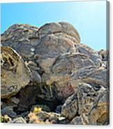 Tagged Rocks Canvas Print