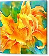 Taglilie Canvas Print