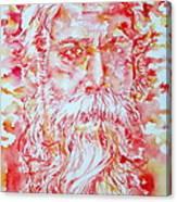 Tagore Canvas Print