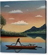 Tahitian Morning Canvas Print