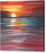 Tahitian Sunset Canvas Print