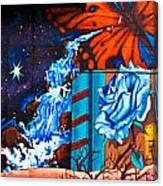 Tahlequah Graffiti Canvas Print