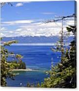 Tahoe Blue Canvas Print