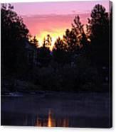 Tahoe Keys Sunrise Canvas Print