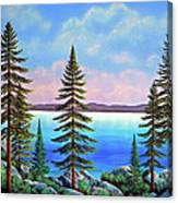 Tahoe Pines Canvas Print