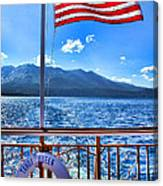 Tahoe Queen Lake Tahoe By Diana Sainz Canvas Print