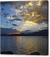 Tahoe Sunset Canvas Print