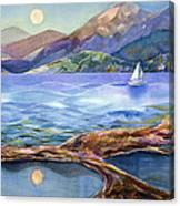 Tahoe Tides Canvas Print