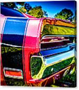 Tail Light Canvas Print