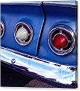 Tail Lights And Fenders Canvas Print