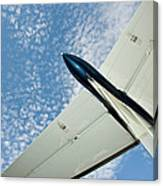 Tail Of The Airplane Canvas Print