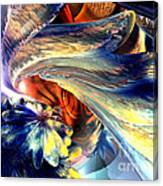 Tailed Beast Abstract Canvas Print