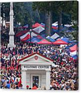 Tailgating At Ole Miss Canvas Print