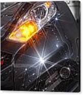 Dodge Headlight Canvas Print